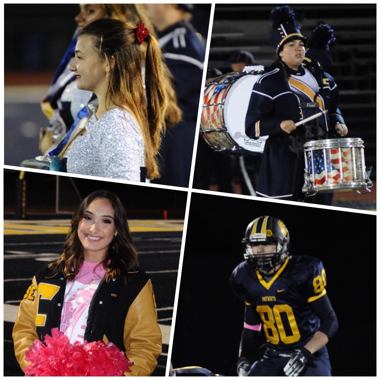 Clockwise: Jennifer Weber, Lillianna Ramos, Zach Pereira, Maria Brock