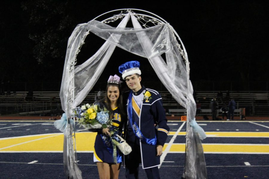 Zawadzki and Langevin voted 2018 Homecoming King and Queen