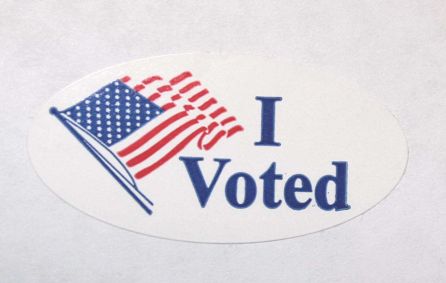 Get out and vote! Your voice matters!