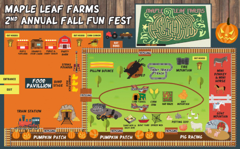 Map of Maple Leaf Farms