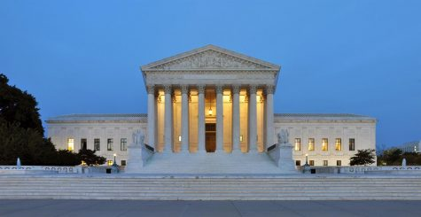 """The Supreme Court's private basketball court is nicknamed """"The Highest Court in all the Land""""."""