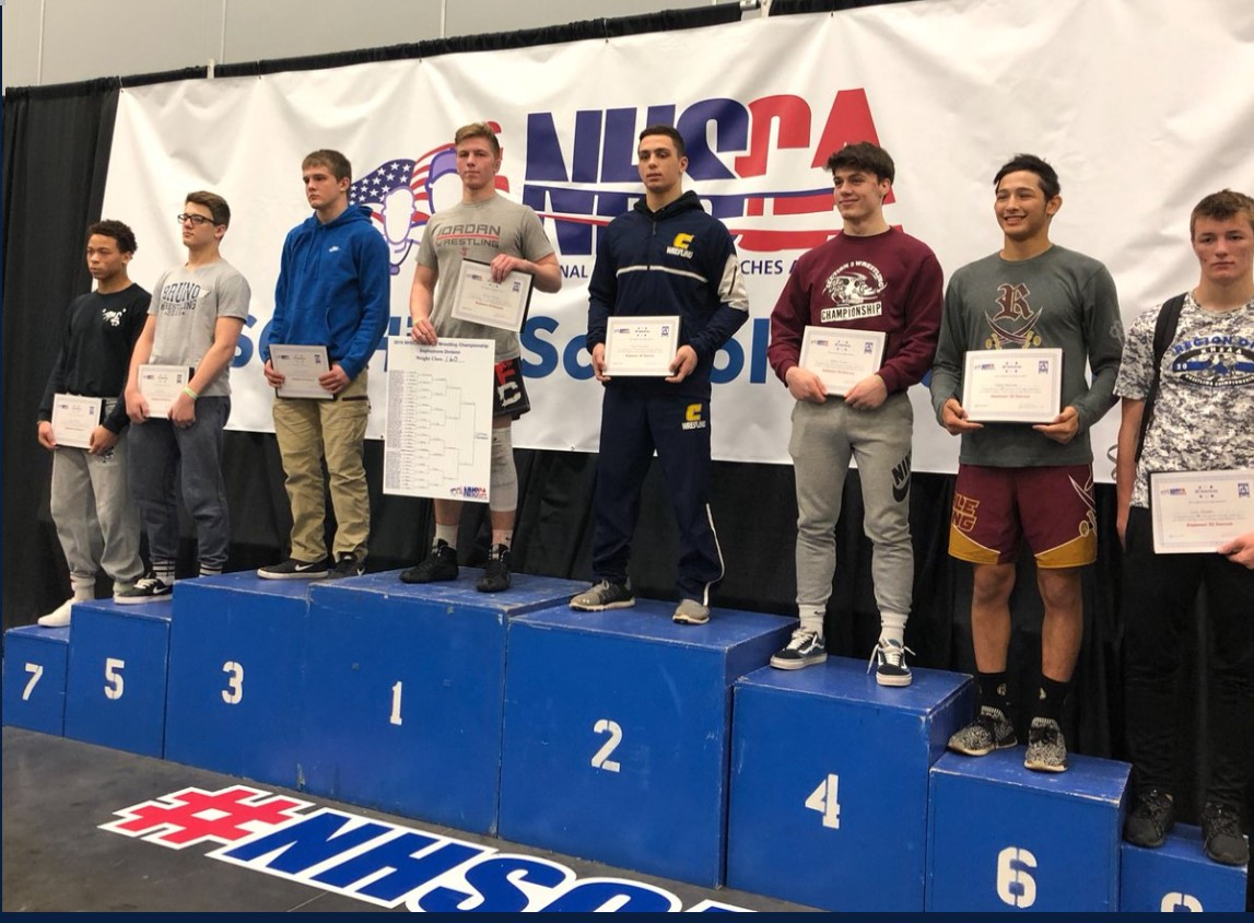 In the Flo Nationals in Virginia ln March of last year, John Poznanzi  takes second place.