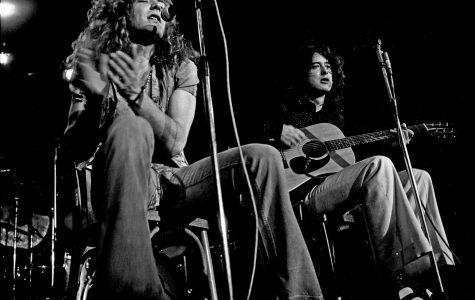 Led Zeppelin scores their seventh U.K. number one album