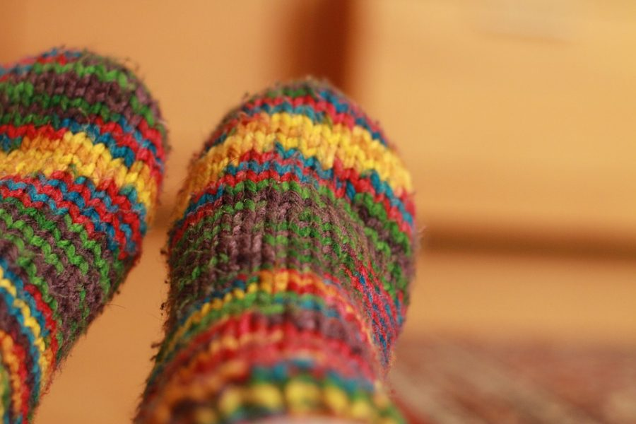 Fuzzy+socks+that+keep+you+warm+and+comfy+this+cold+season.+They+can+also+fit+into+your+stocking.+Photo+via+Pixabey+Iunder+the+Creative+Common+License.