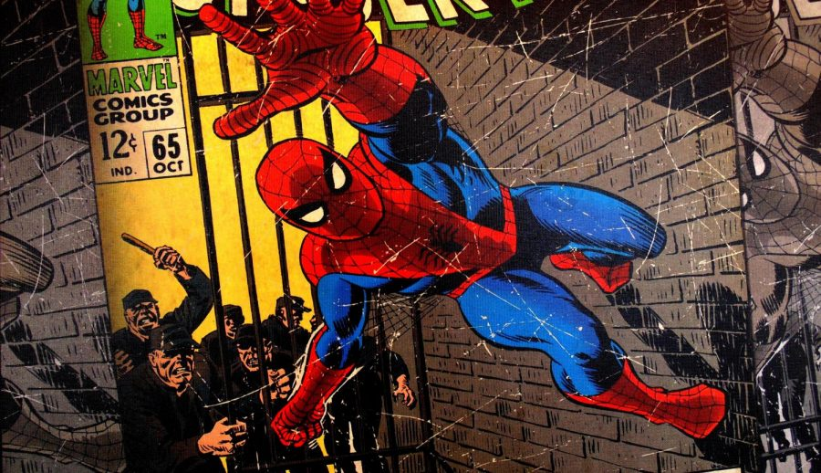 Spiderman%27s+real+identity+is+teenager+Peter+Parker.