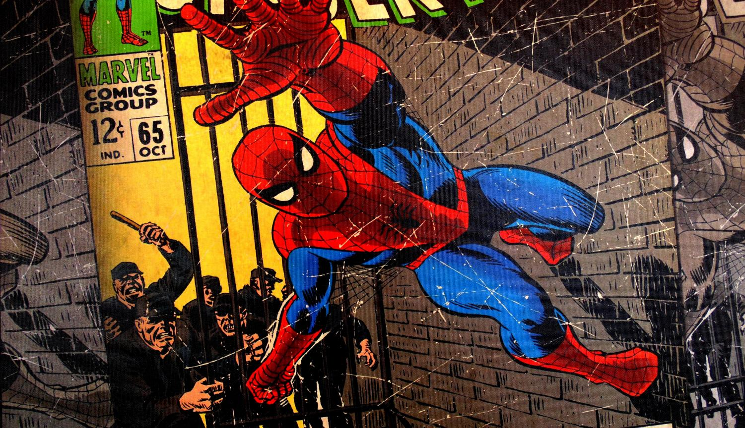 Spiderman's real identity is teenager Peter Parker.