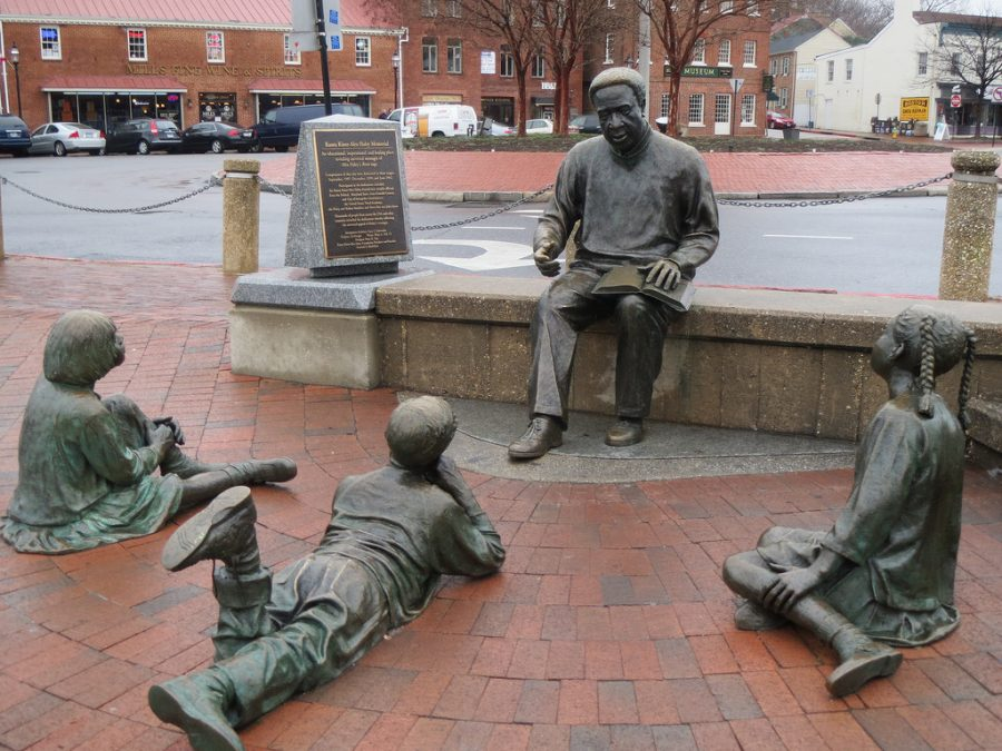 Kunta Kinte is so important in our history, that they honored him with a memorial