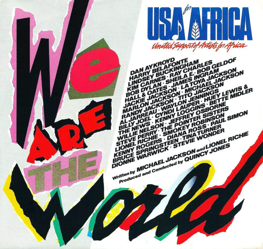 We Are the World is an iconic piece of music that helped the lives of those who lived in Africa.