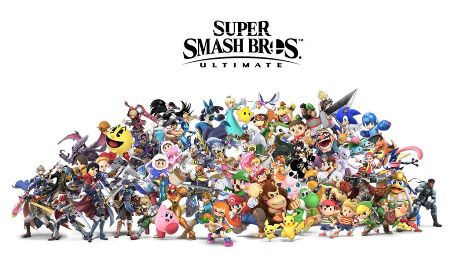Available+on+Nintendo+Switch+as+well+other+gaming+systems%2C+Smash+Bros+Ultimate+a+hot+game+played+by+all.