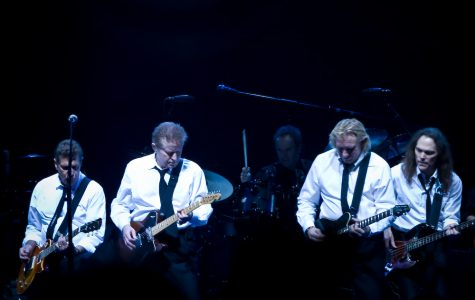 The Eagles went number one on the U.S. album charts