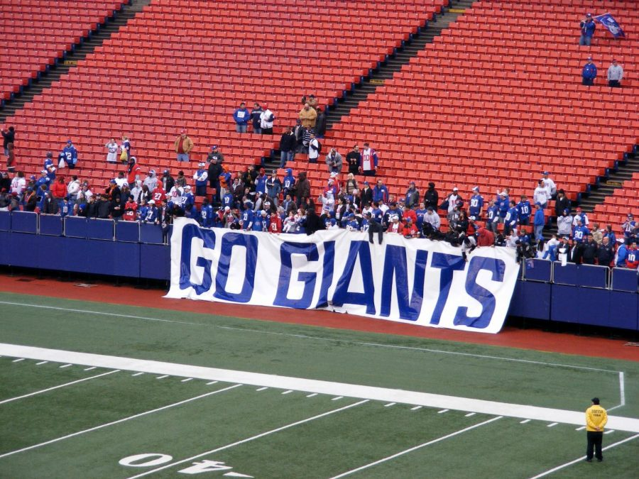 Seen here is Giants stadium, where one of the greatest defensive players of all time, and Giants legend Lawrence Taylor played.