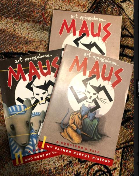 Maus tells Holocaust survivor's story in a new way