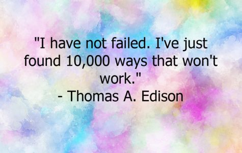 """I have not failed. I've just found 10,000 ways that won't work."""