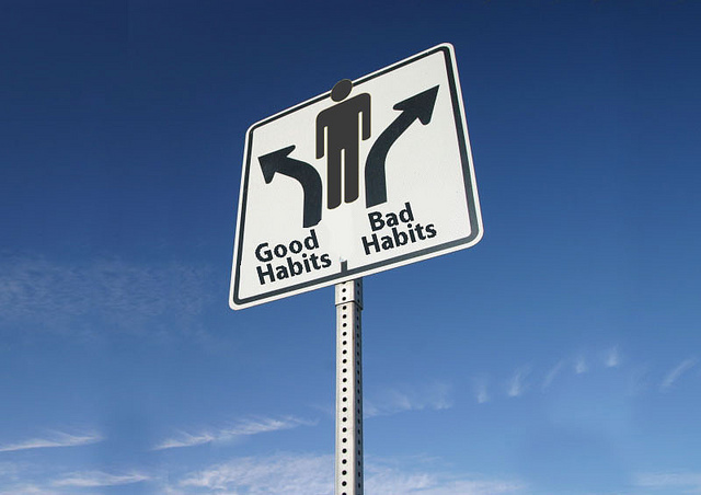Developing and breaking habits are easy to accomplish with you are committed. photo via flickr under the creative commons license