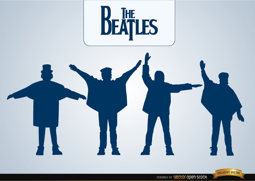 Using their silhouettes as the cover, The Beatles sell millions of copies of Help!