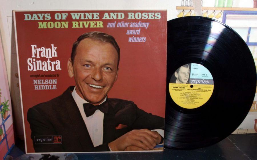 Producing his first record, Frank Sinatra makes history.