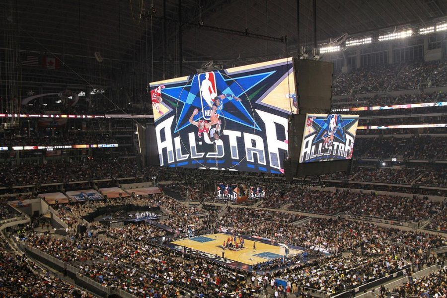 Seen here is one of the venues for the past decade of NBA All-Star games, much like New Orleans in 2017.