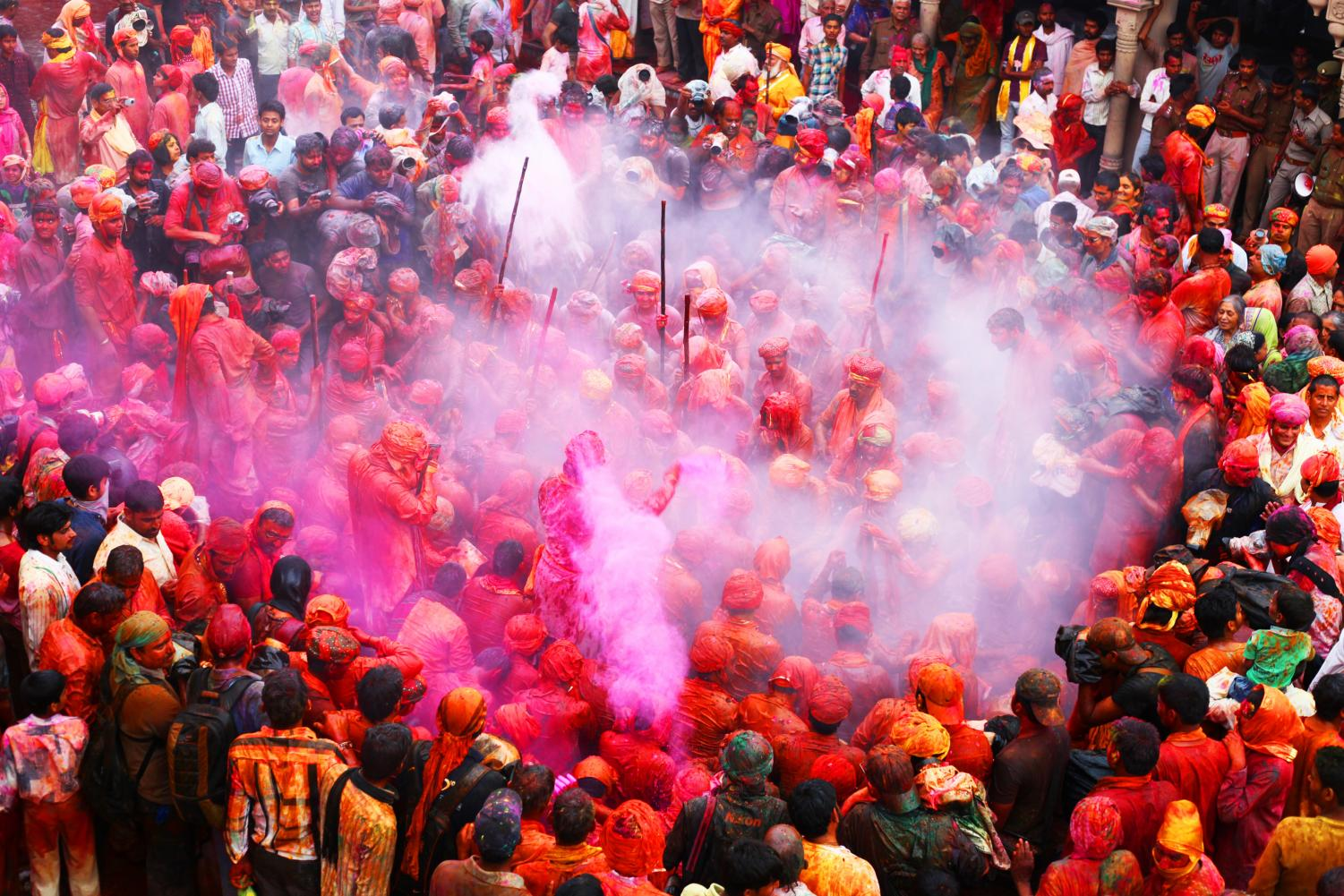 Holi is a Hindu spring festival, which can also be known as the