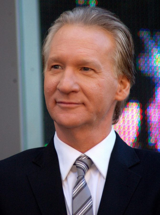 Bill Maher is an active member of the Democratic party
