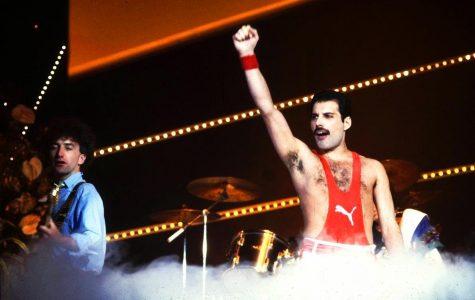 Freddie Mercury makes his final apperance on stage