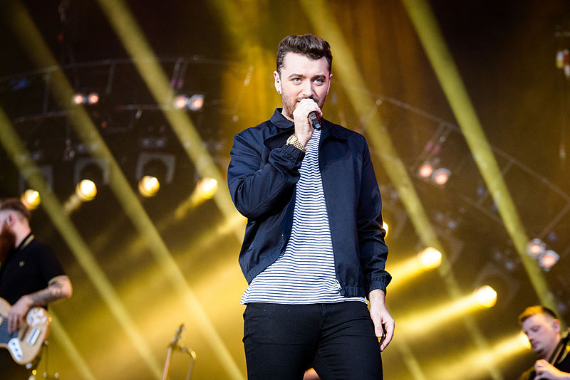 Performing+at+the+concert%2C+Sam+Smith+sings+his+Grammy+Award+winning+song+Stay+With+Me.