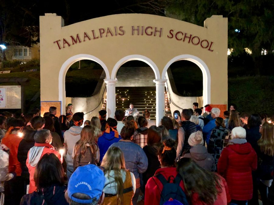 The school held a vigil in honor of the victims of this horrific shooting.
