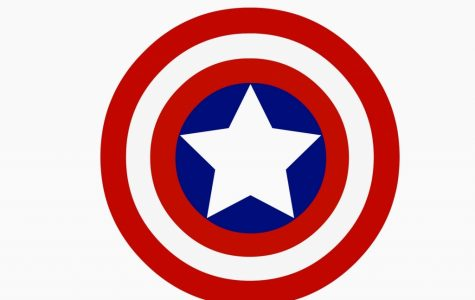 The first issue of Captain America was released 9 months before Pearl Harbor and the US's involvement in WWII.