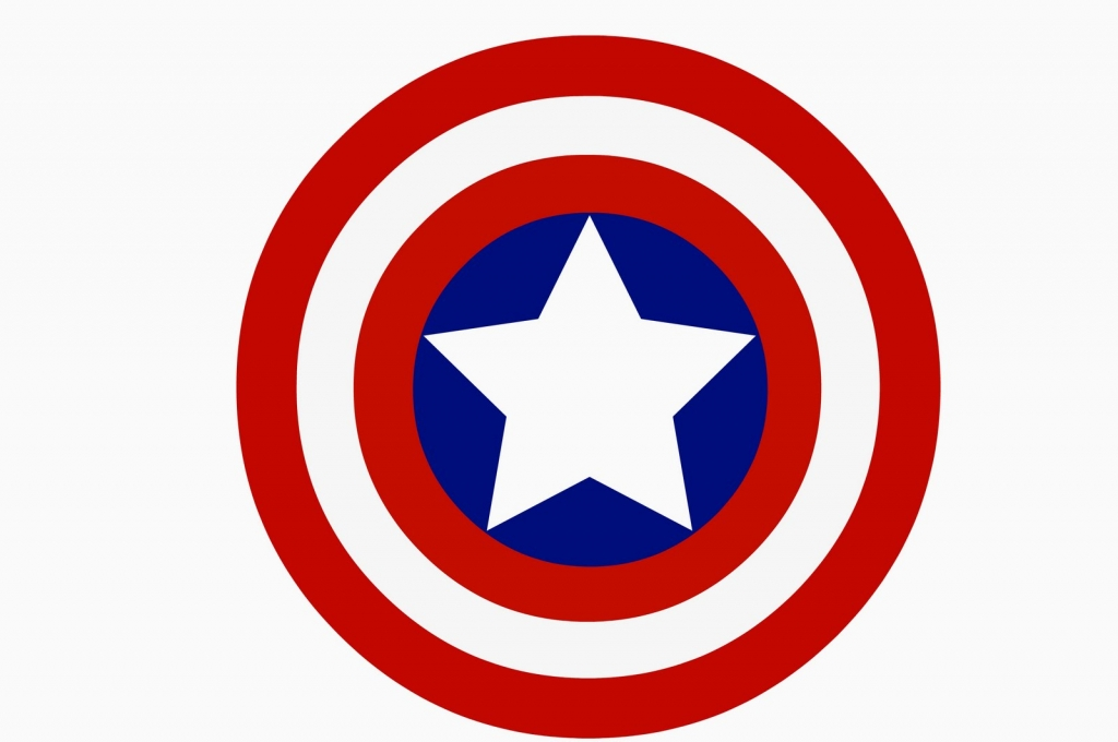 Captain America uses his shield as his main weapon.