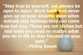 This is a quote by American Musician, Phillip Sweet.