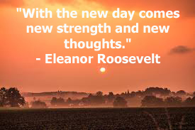 This is a quote by American First Lady, Eleanor Roosevelt.