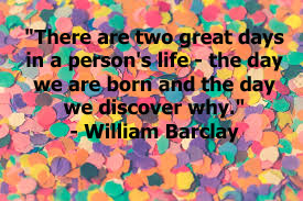 This is a quote by Scottish Theologian, William Barclay.