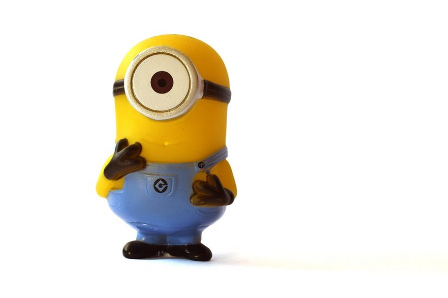 The+Minions+from+the+movie+%22Despicable+Me%22%2C+follow+the+orders+of+their+leader%2C+Gru.