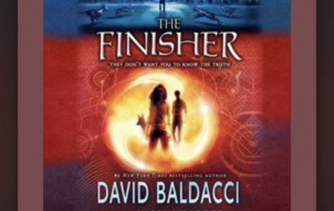 The stunning cover of The Finisher is a work of art that can easily catch the attention of curious readers.