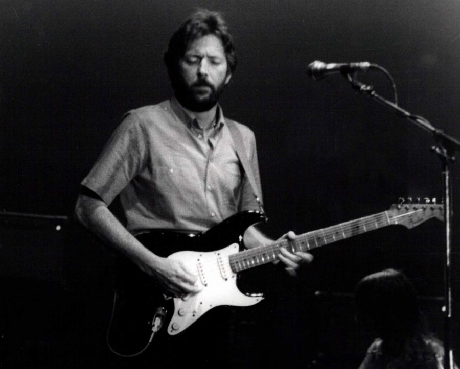 Singing Tears in Heaven, Eric Clapton honors his late son with a song.