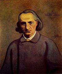 This is a picture of French Poet, Charles Baudelaire.