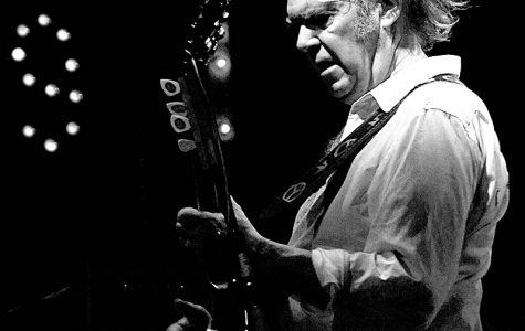 Neil Young goes number one in the US and the UK