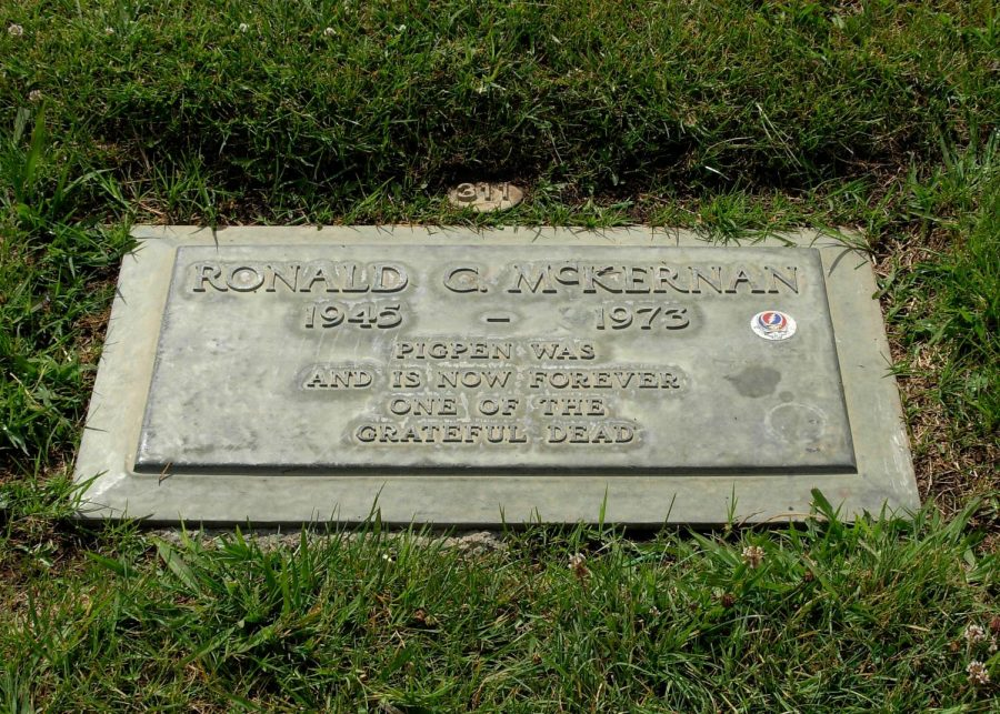Honnoring his passing, Ron McKernan, is gone but no forgotten.