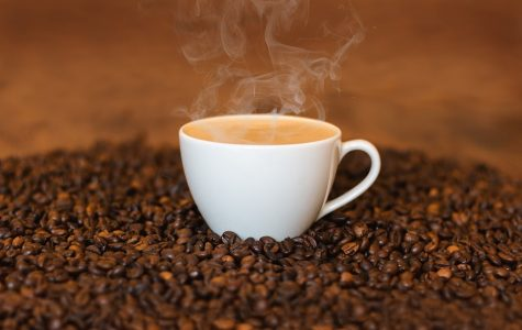 The average American drinks about three coffee cups every morning.