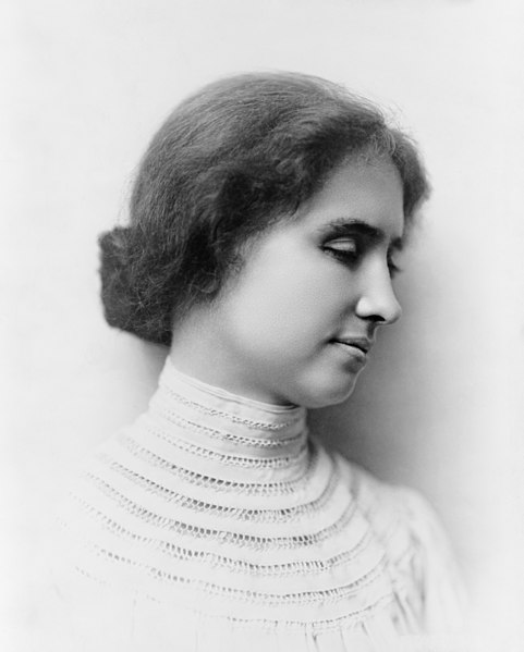 Helen Keller is known to be the first deaf-blind person to earn a Bachelor of Arts degree