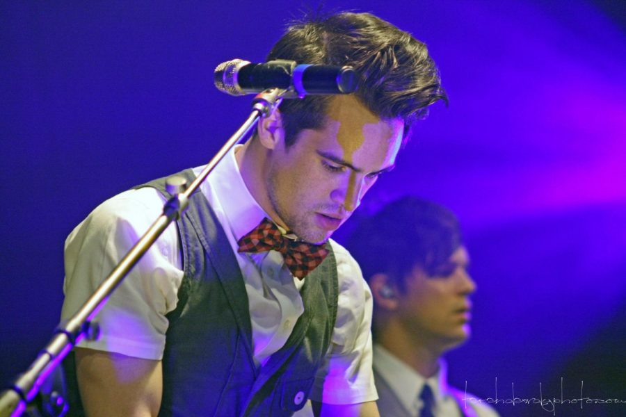 Playing Piano to one of his songs, Brendon Urie and Panic! at the Disco perform in Omaha.