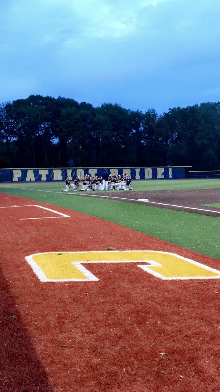 Second baseball game of the season against Woodbridge