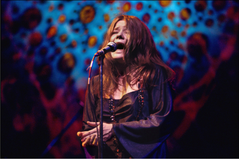 Singing Me and Bobby McGee, Janis Joplin performs with passion.