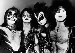 Wearing their iconic makeup, KISS comes back for a reunion tour.