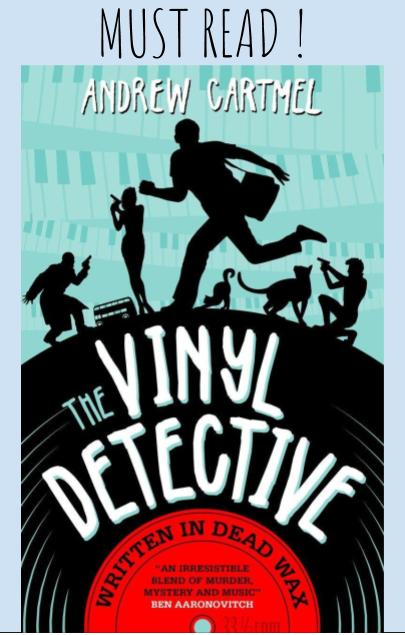 The Vinyl Detective: Written in Dead Wax is a groovy book