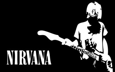 Exciting to see Nirvana being inducted into the Rock and Roll Hall of Fame, a fan makes this poster to honor them.