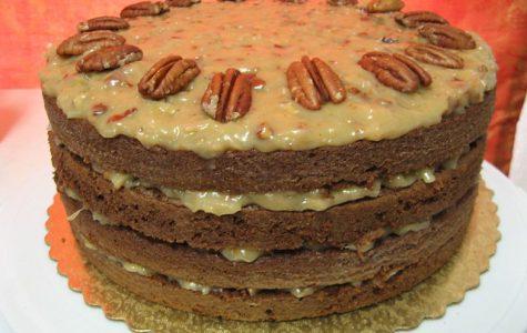 German chocolate cake is named after an American baker named Samuel German.