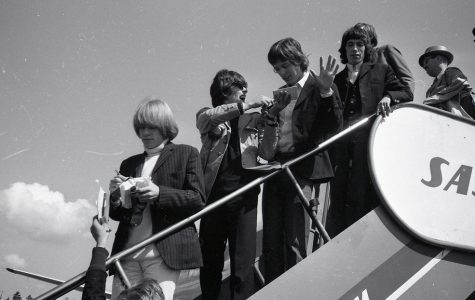 The Rolling Stones started a 12 week run at No. 1