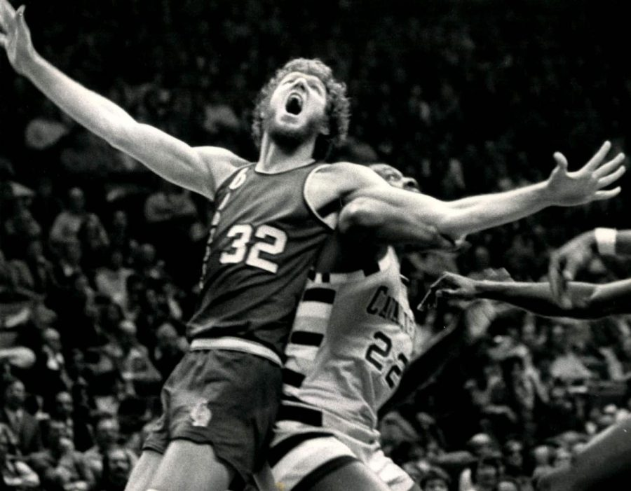 Seen here is NBA and college basketball legend Bill Walton, who was able to win player of the year in college, and an MVP in the NBA.