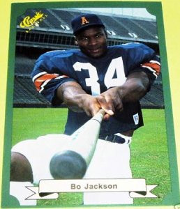 April 29, 1986- Auburn running back Bo Jackson first pick by Tampa Bay Buccaneers