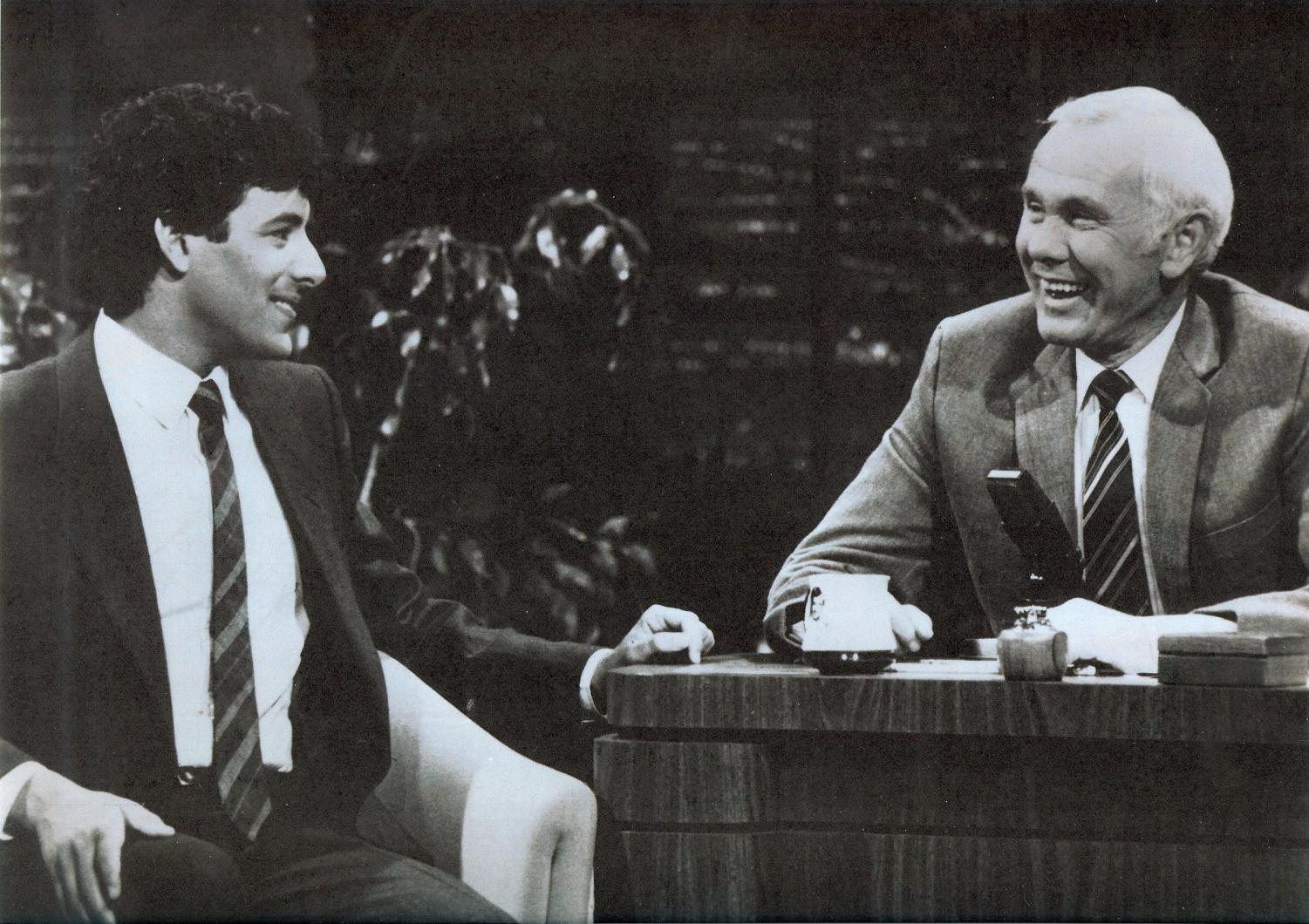 Johnny Carson unfortunately passed away in 2005.